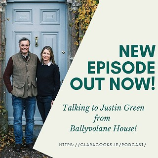 ClaraCooks Podcast with Justin Green
