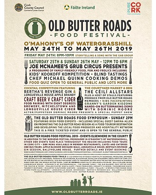 Old Butter Roads Food Festival 2019