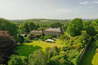 Bird's eye view of Ballyvolane House