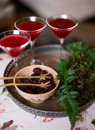 Hedgerow martinis