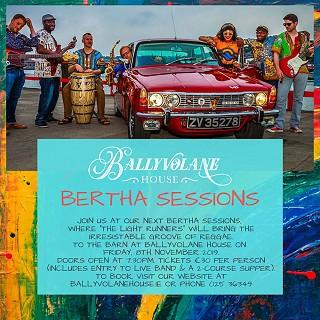 Bertha Sessions - Live Music & Supper