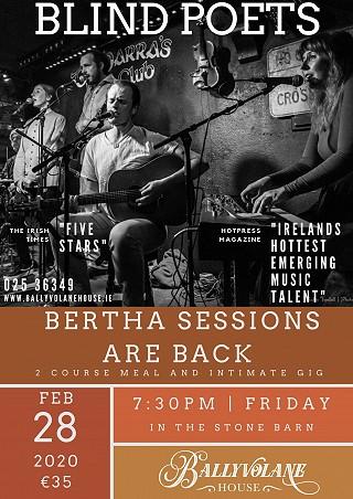Bertha Sessions 28th February 2020