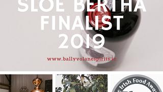 Sloe Bertha - Finalist 2019 Blas na hEireann Irish Food Awards