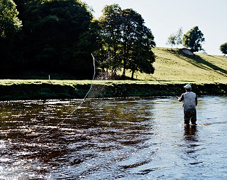 Fly fishing on the Cork Blackwater