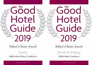 Good Hotel Guide Best Fishing Hotel award 2019