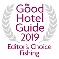 Good Hotel Guide 2019 'Editors' Choice Fishing Hotel Award'
