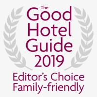 Good Hotel Guide 2019 'Editors' Choice Family-Friendly Hotel Award'