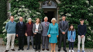 The Prince of Wales & The Duchess of Cornwall at Ballyvolane House