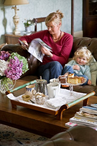 Afternoon treats at luxury guest house Cork, manor house accommodation Cork