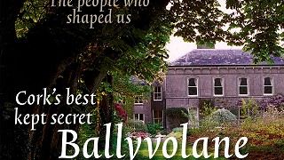 Ireland of the Welcomes front magazine cover featuring Ballyvolane House