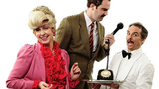Faulty Towers Dining Experience at Ballyvolane House December 2019