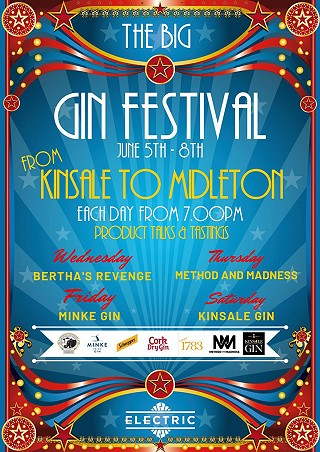 The Big Gin Festival at the Electric Cork
