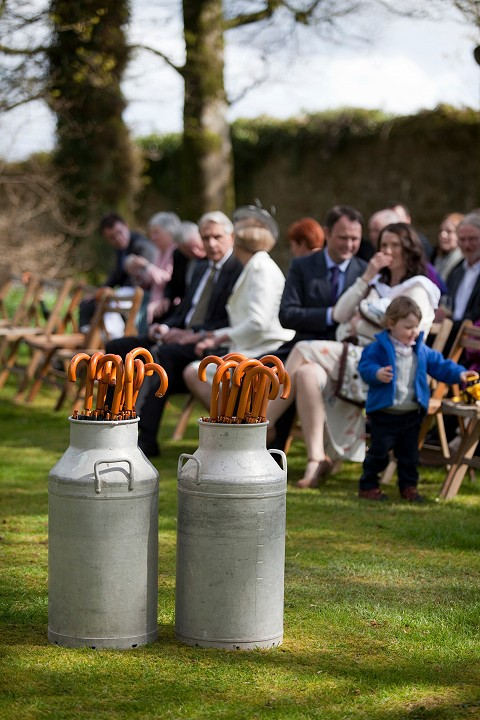 Woodland wedding ceremonies