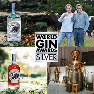 Silver for Bertha's Revenge Gin & Sloe Bertha at the World Gin Awards 2021